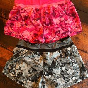 Tangerine shorts ( 2 )